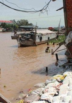 Sụt lún đất Đồng bằng sông Cửu Long đang diễn ra nhanh hơn