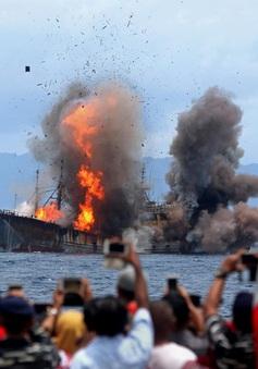 Indonesia xử lý các tàu đánh cá nước ngoài bất hợp pháp