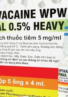 Đồng Nai: Tạm ngừng sử dụng thuốc gây tê tủy sống thường dùng cho sản phụ