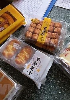 Tạm giữ hơn 5.400 gói bánh bông lan Trung Quốc không có hóa đơn chứng từ