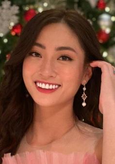 Lương Thùy Linh diện đầm hồng ấn tượng chào sân Miss World 2019