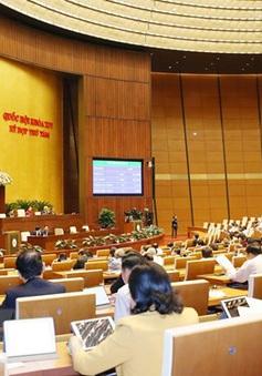 Quốc hội thông qua một số dự án luật và Nghị quyết