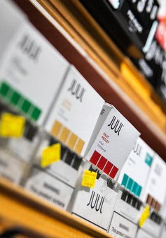 Thêm đơn kiện hãng sản xuất thuốc lá điện tử Juul tại Mỹ