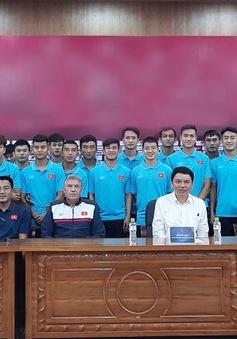 U20 Việt Nam chuẩn bị tham dự giải giao hữu quốc tế tại Bình Dương