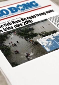 """Miền Nam Việt Nam sẽ bị nhấn chìm vào năm 2050 - """"Kịch bản"""" khiến nhiều người lo lắng"""
