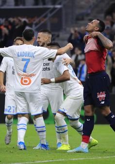 Kết quả, Lịch thi đấu, BXH Vòng 12 Ligue I: Marseille 2-1 Lille, Toulouse 2-3 Lyon