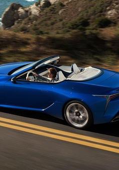 Lexus LC 500 ra mắt phiên bản mui trần