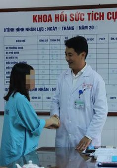Sản phụ sống sót sau tai biến nghi ngộ độc thuốc tê