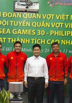 SEA Games 30: Quần vợt Việt Nam đặt mục tiêu giành HCV đầu tiên trong lịch sử