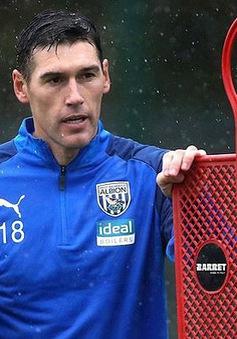 Gareth Barry trở lại với bóng đá ở tuổi 38
