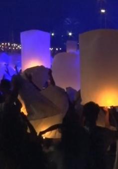 Thái Lan cấm thả đèn trời, khinh khí cầu gần các sân bay dịp Lễ hội Hoa đăng