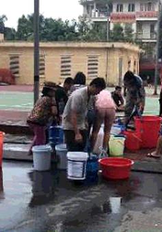 Cư dân khu đô thị Tân Tây Đô lại mất nước