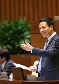 Bộ trưởng Nguyễn Mạnh Hùng chia sẻ cái khó của người trả lời chất vấn