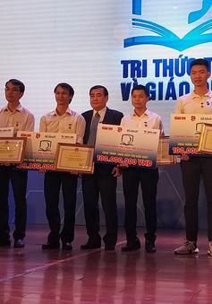 """Lộ diện 5 công trình tiêu biểu được vinh danh tại Lễ trao giải """"Tri thức trẻ vì giáo dục năm 2019"""""""