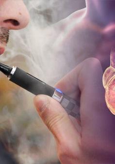 Phát hiện thêm tác hại của thuốc lá điện tử sử dụng tinh dầu