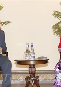 Chủ tịch Quốc hội gặp lãnh đạo Đảng Cộng sản Liên bang Nga
