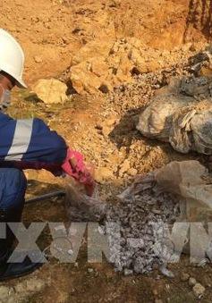 Hà Nội giao cơ quan công an làm rõ vụ đổ trộm chất thải