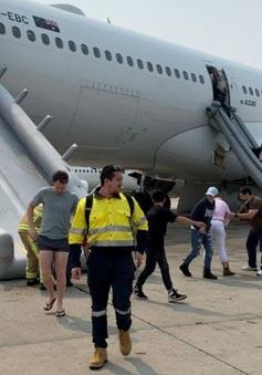 Máy bay của hãng hàng không Qantas gặp sự cố