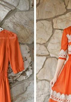 Cách biến tấu chiếc đầm thun cũ thành váy cực phong cách