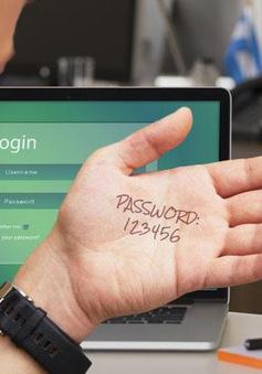 Những thói quen nguy hiểm khi dùng mật khẩu