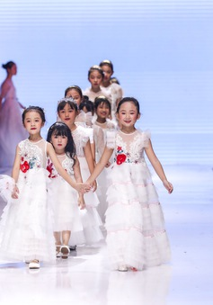 Chương trình thời trang trẻ em Junior Fashion Runway 5: Sôi động và hấp dẫn