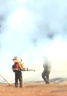 Gia Lai diễn tập phòng cháy chữa cháy