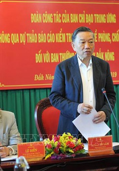 Kiểm tra phòng, chống tham nhũng tại Đắk Nông, Đắk Lắk