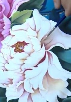 Trào lưu học vẽ tranh trên vải