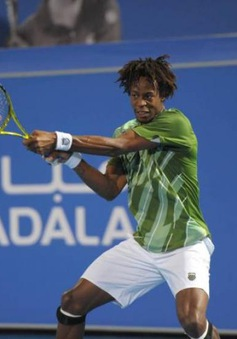 Gael Monfils rút lui khỏi giải quần vợt Mubadala World Tennis Championship