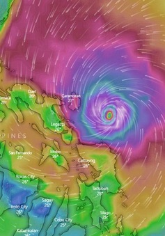 100.000 người sơ tán vì bão ở Philippines trong mùa SEA Games