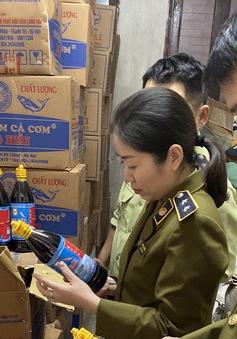 Hơn 3.000 chai nước mắm bị thu giữ tại Nghệ An là hàng giả, không có giá trị sử dụng