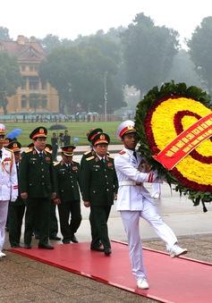 Tri ân người sáng lập Quân đội nhân dân Việt Nam