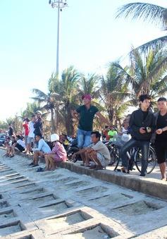 Tìm thấy thi thể du khách nước ngoài mất tích khi tắm biển ở Quảng Nam