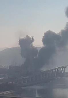 5 người bị thương trong một vụ nổ tại nhà máy của POSCO