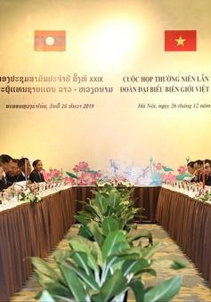 Thúc đẩy hợp tác biên giới Việt Nam - Lào