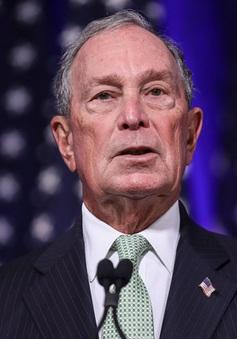 Tỷ phú Bloomberg thành lập công ty công nghệ phục vụ tranh cử