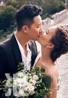 Tiết lộ ảnh hiếm về lễ đính hôn của Hàn Canh và mỹ nhân Lư Tĩnh San