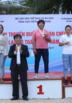 Đoàn Đà Nẵng dẫn đầu Giải đua Thuyền buồm và Ván chèo đứng các Câu lạc bộ toàn quốc năm 2019