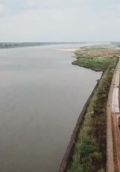 Nước sông Mekong ở Thái Lan xuống mức thấp kỷ lục