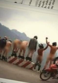 Nhóm thanh niên đi phượt chụp ảnh phản cảm ở Hà Giang