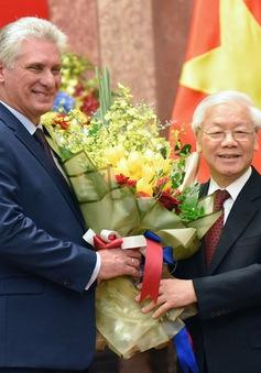 Điện mừng nhân kỷ niệm 59 năm thiết lập quan hệ Việt Nam - Cuba