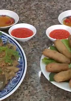 Các món ăn thơm ngon từ cá thác lác Hậu Giang