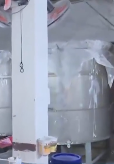 Đà Nẵng bắt quả tang một vụ xả thải ra môi trường