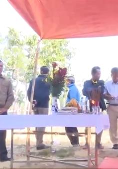Phát hiện mộ liệt sỹ tập thể tại Lào