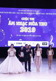 Cuộc thi Âm nhạc Mùa Thu 2019: Vinh danh những tài năng nhạc thính phòng
