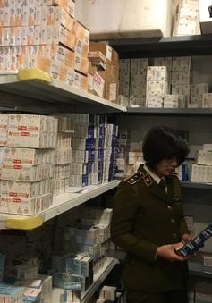Hà Nội: Tạm giữ lô thuốc tân dược trôi nổi trị giá hơn 1,7 tỷ đồng