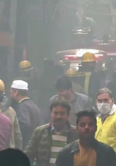 Cháy lớn tại một nhà máy ở thủ đô Ấn Độ, ít nhất 43 người chết