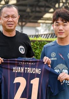 CHÍNH THỨC: Lương Xuân Trường gia nhập Buriram United và mặc áo số 21