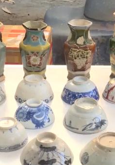 Thú vị phiên chợ đồ xưa dịp đầu Xuân tại Khánh Hòa