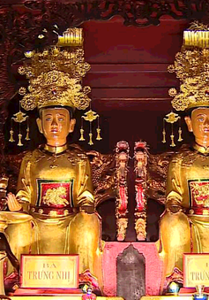 Kỷ niệm 1979 năm khởi nghĩa Hai Bà Trưng và khai hội Đền Hai Bà Trưng